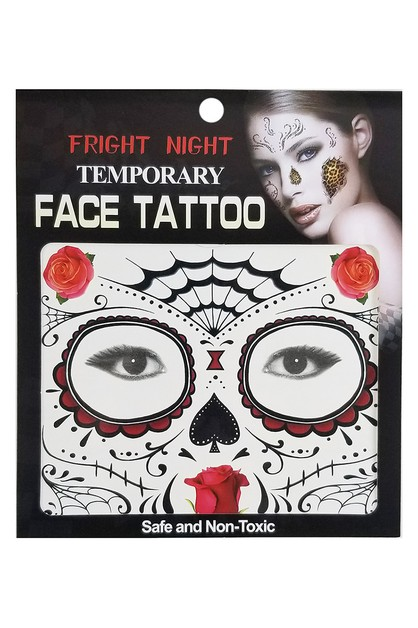 Temporary Face Tattoos - orangeshine.com