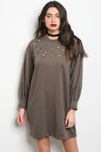 DARK GRAY DRESS - orangeshine.com