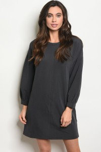 CHARCOAL DRESS - orangeshine.com