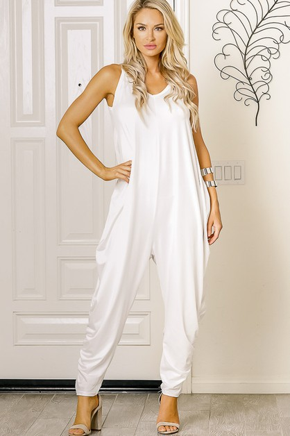 ONE PIECE JUMPSUITS THIN STRAPS  - orangeshine.com
