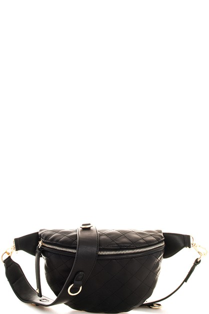 Hot Trendy Stitch Waist Bag  - orangeshine.com