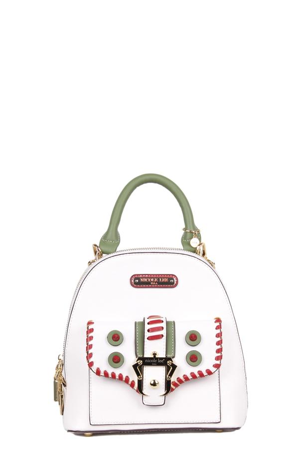 1fbedc14fb93 NICOLE LEE USA - Eleri Buckle Small Backpack