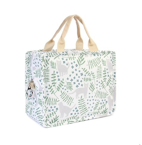 LEAVES AND CAT LUNCH BAG - orangeshine.com