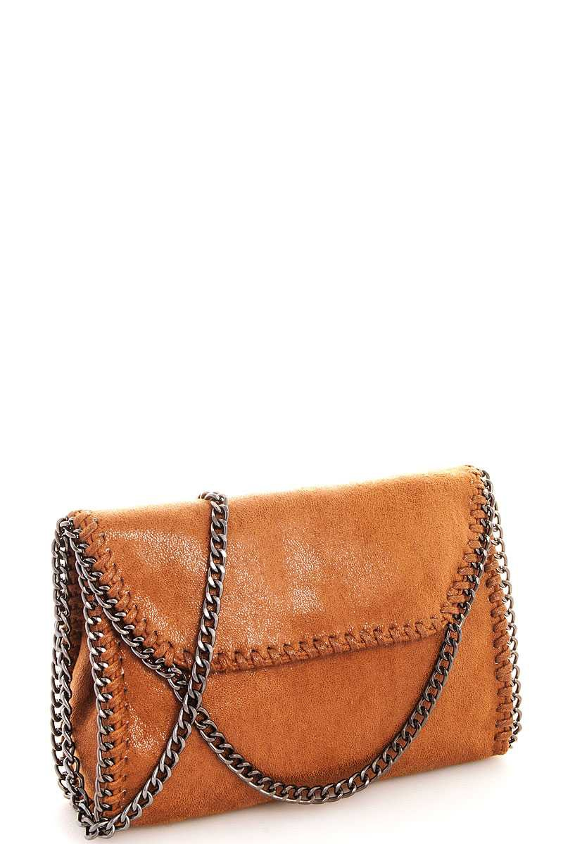 3664538fc0 JO BERRY Wholesale Modern Chained Crossdbody Bag