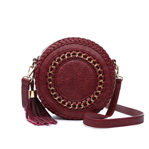 Whipstitched Crossbody Bag - orangeshine.com