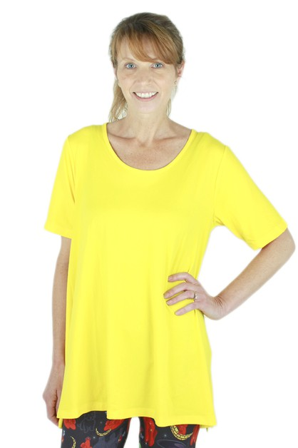 Solid Yellow Ideal T	 - orangeshine.com