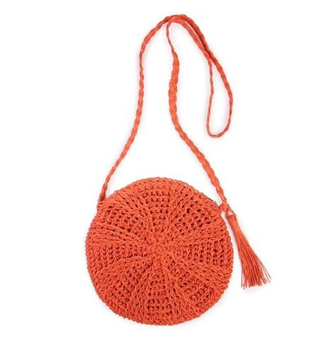 TASSEL ZIPPER CROSSBODY SHOULDER BAG - orangeshine.com
