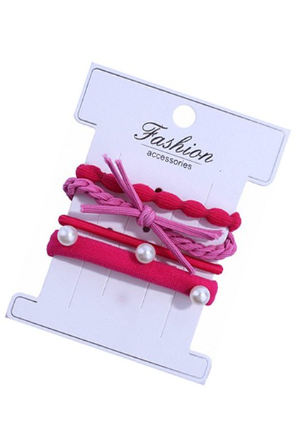 4-pc Hair Tie Set - orangeshine.com