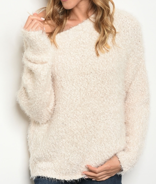 Fluffy Sweater - orangeshine.com