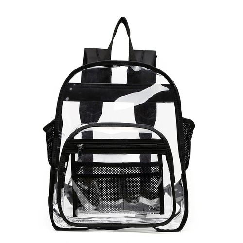 Medium Clear Backpack - orangeshine.com