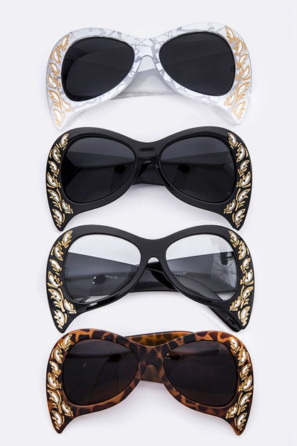 Iconic Teardrop Edgy Sunglasses - orangeshine.com