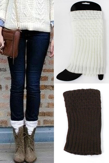 Boot toppers Cuffs Leg Warmers - orangeshine.com