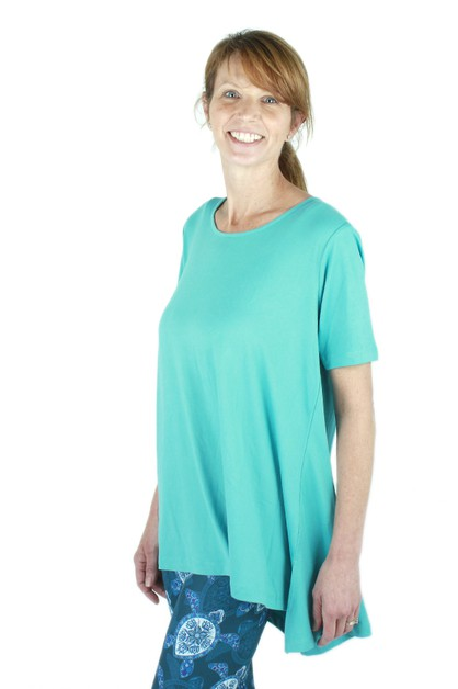Solid Teal Ideal T - orangeshine.com