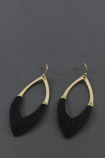 BEAD DANGLE EARRING  - orangeshine.com
