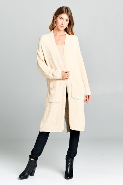 SUPER SOFT KNIT CARDI - orangeshine.com