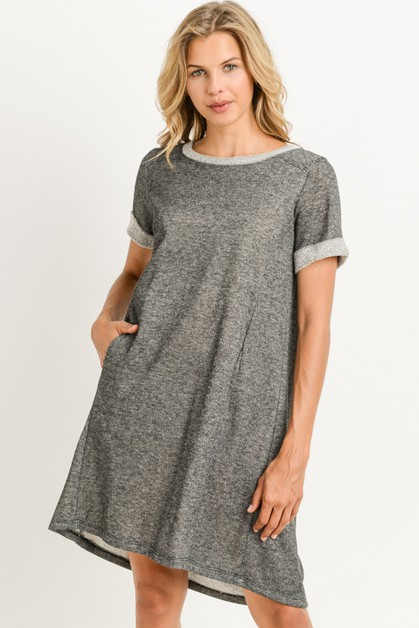 T shirt Dress - orangeshine.com