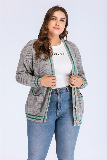Women One Size Sweater Cardigan  - orangeshine.com