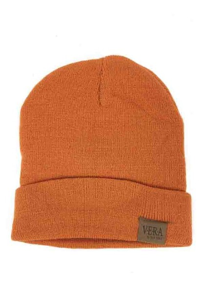 Simple winter warm beanie - orangeshine.com