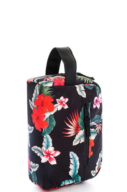 Floral Multi Pocket Handbag - orangeshine.com