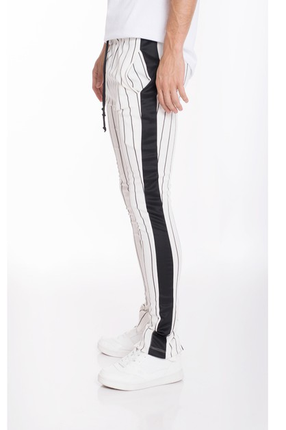 PIN STRIPE TRACK PANTS - orangeshine.com