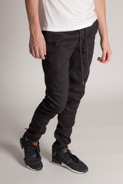 PULL UP DRAWSTRING JOGGER - orangeshine.com