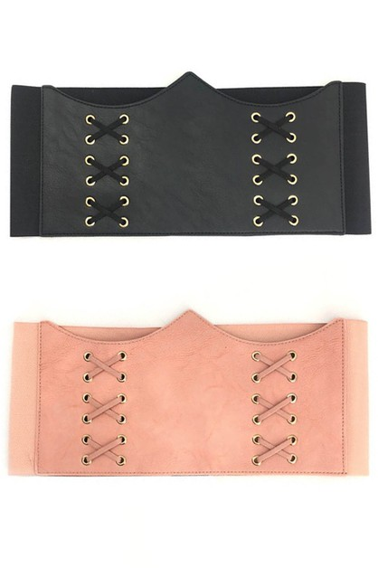 corset wide elastic belt - orangeshine.com