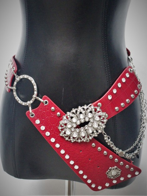 RHINESTONE western fashion Belt - orangeshine.com