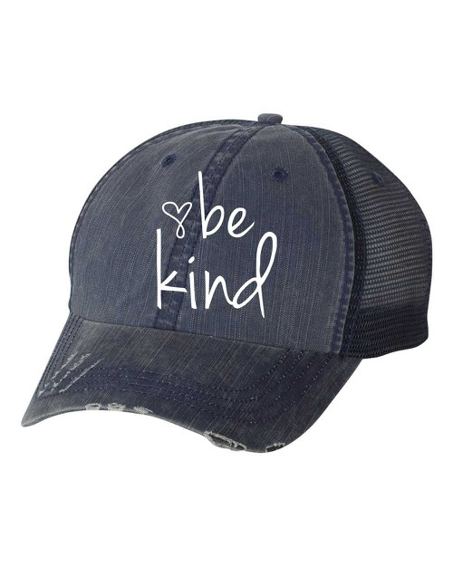 Be Kind Trucker Hat - orangeshine.com