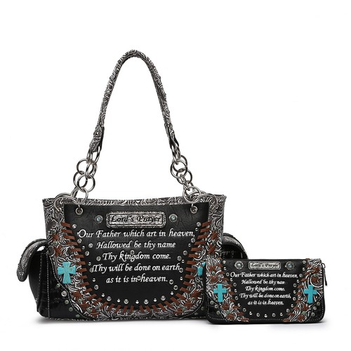 Lords Prayer Satchel and Wallet - orangeshine.com