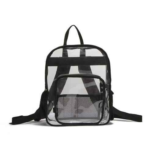 Medium Multi Pocket Clear Backpack - orangeshine.com