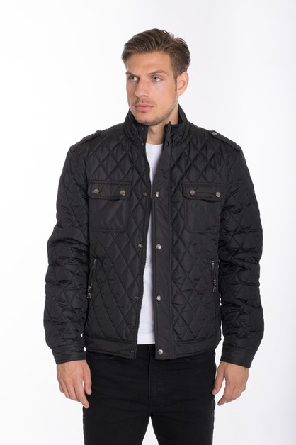 WEIV QUILTED DOUBLE POCKET JACKETS - orangeshine.com