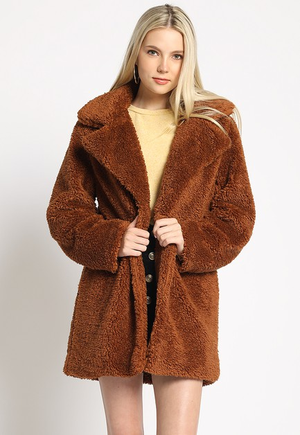 MICRO TEDDY JACKET - orangeshine.com