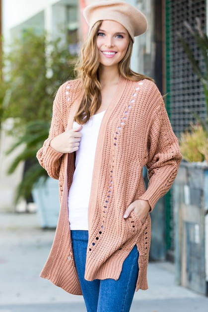 Sweater Cardigan - orangeshine.com