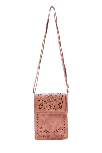 2 STUD FLOWER CELLPHONE BAG - orangeshine.com