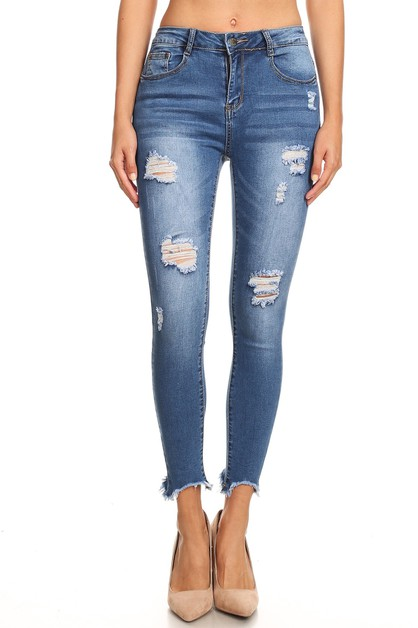DISTRESSED JEANS - orangeshine.com