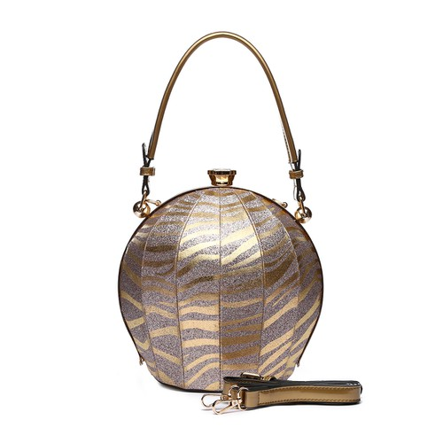 Zebra Top Handle Ball Bag - orangeshine.com