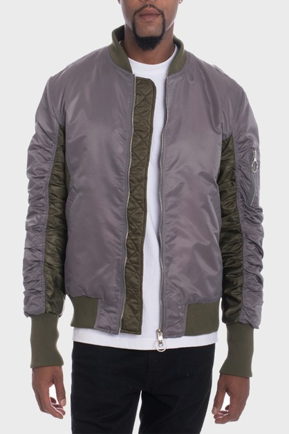 Casual MA-1 Flight Bomber Jacket - orangeshine.com