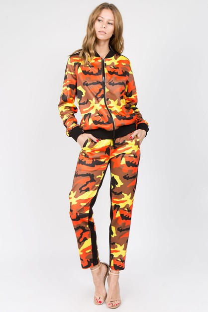 COLOR STRIPED CAMO SET - orangeshine.com