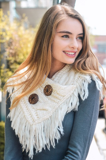 Shoulder Warmer Scarf - orangeshine.com