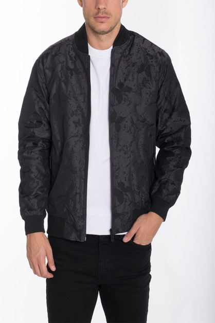 BUTTER FLY PRINTED BOMBER JACKETS - orangeshine.com