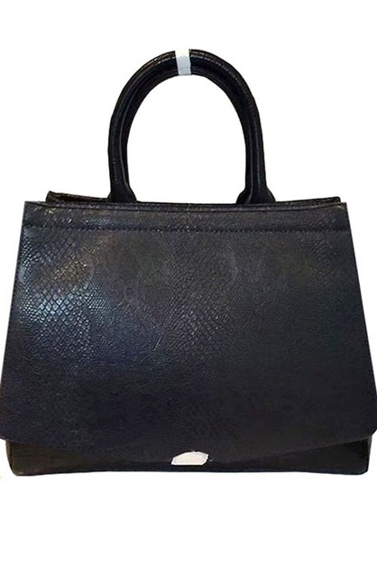 Snake Skin Hobo Shoulder Bag - orangeshine.com