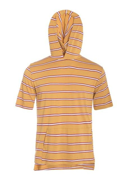 Short Sleeve Hooded T-Shirt - orangeshine.com