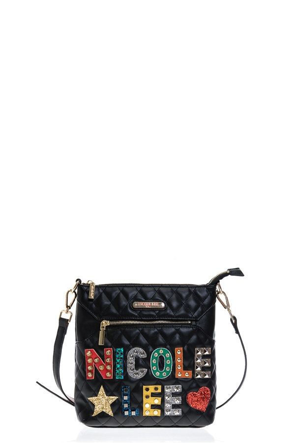 PATCH QUILTED CROSSBODY BAG - orangeshine.com