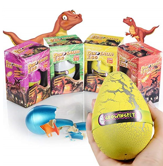 Magic Dinosaur Eggs Water Hatch Grow - orangeshine.com