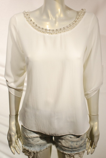 waist length top in a relaxed style  - orangeshine.com