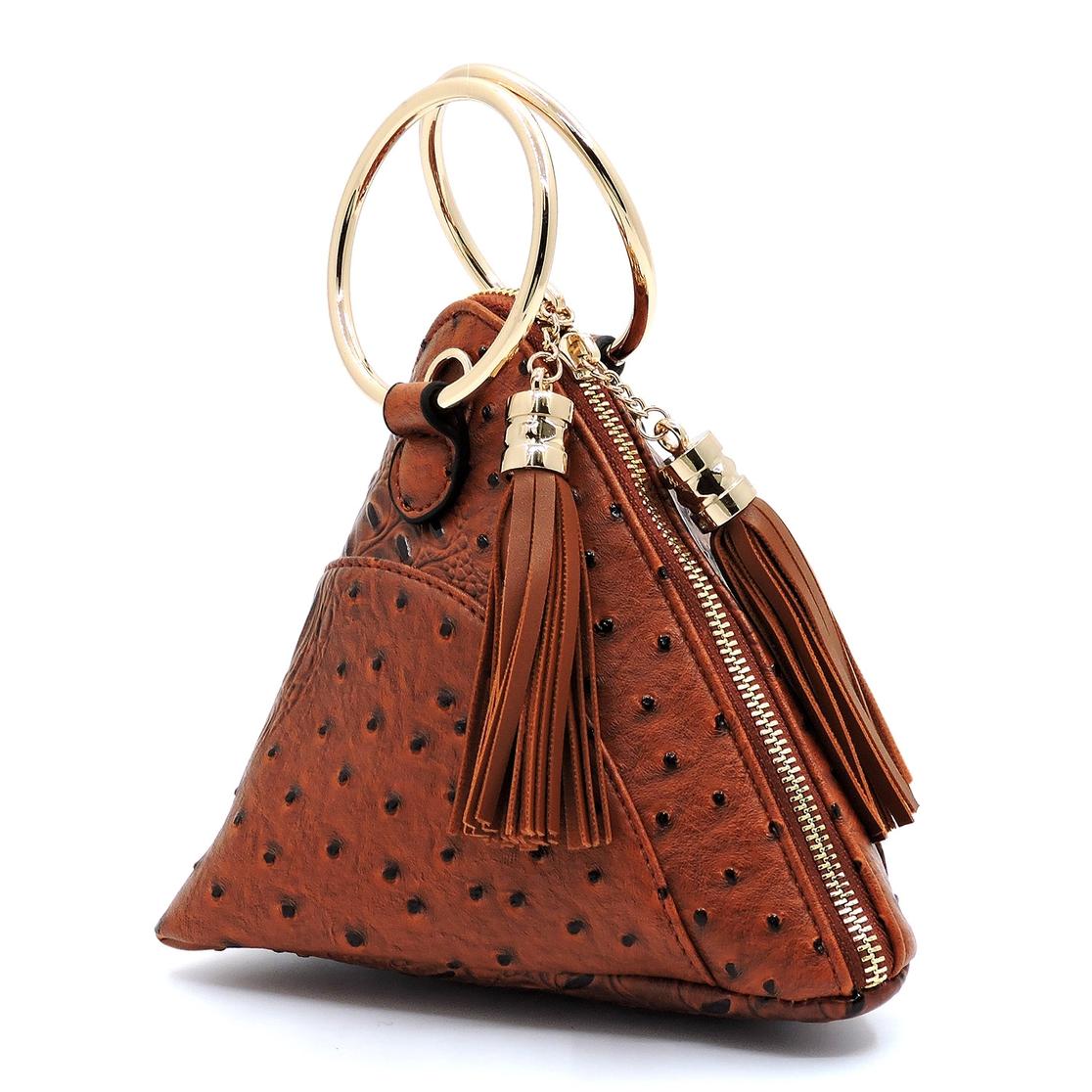 656203d886 FASHION BRIDGE Wholesale Ostrich Croc Clutch Crossbody Bag ...