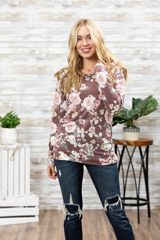 Long sleeve floral FL2 sweatshirt - orangeshine.com