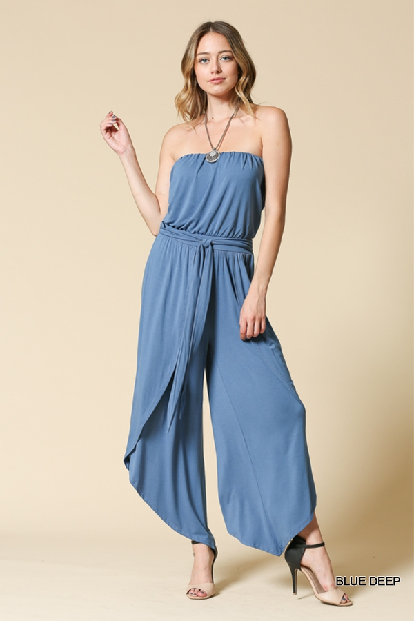 Blouson  Elasticated  Jumpsuit - orangeshine.com