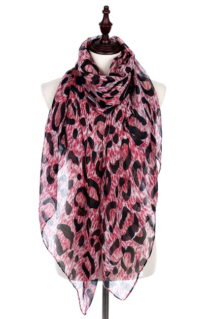 Animal Print Scarves - orangeshine.com
