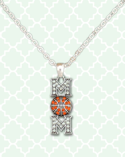 Basketball Mom Necklace - orangeshine.com